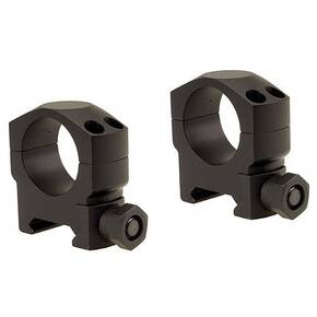 "Leupold 2-Piece Mark 4 Aluminum Scope Rings 1"" Medium, Matte"