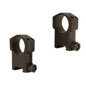 Leupold 2-Piece Mark 4 Aluminum Scope Rings 30mm Super High, Matte Black