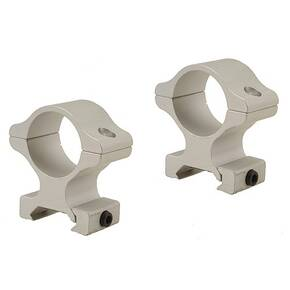 "Leupold 2-Piece Rifleman Detachable Weaver-Style Aluminum Rings - 1"" High, Silver"