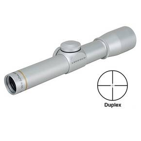 Leupold FX-II Handgun Scope - 2x20mm Duplex Reticle Silver