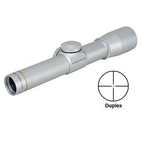 BLEMISHED Leupold FX-II Handgun Scope - 2x20mm Duplex Reticle Silver