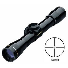BLEMISHED Leupold FX-II Handgun Scope - 4x28mm Duplex Reticle Gloss Black