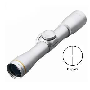 Leupold FX-II Handgun Scope - 4x28mm Duplex Reticle Silver