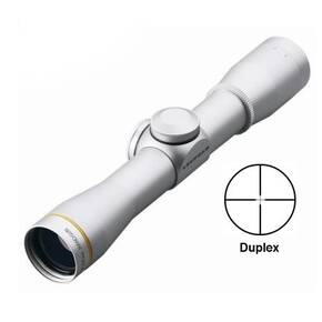 BLEMISHED Leupold FX-II Handgun Scope - 4x28mm Duplex Reticle Silver
