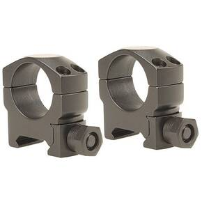 "Leupold 2-Piece Mark 4 Steel Scope Rings - 1"", Medium, Matte"