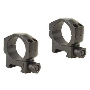 Leupold 2-Piece Mark 4 Steel Scope Rings 30mm Medium, Matte Black