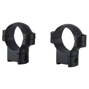 Leupold 2-Piece Solid Steel Ringmounts - CZ 527 , 30mm High, Matte Black