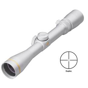 "BLEMISHED Leupold VX-3 Rifle Scope - 2.5-8x36mm Duplex 37.5-13.7' 4.5-3.6"" Silver"