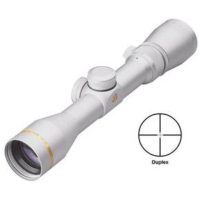 BLEMISHED Leupold VX-3 Handgun Scope - 2.5-8x32mm Duplex Reticle Silver