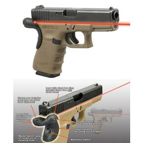 LaserMax Sabre Series Frame Mount Laser Sight For for Glock