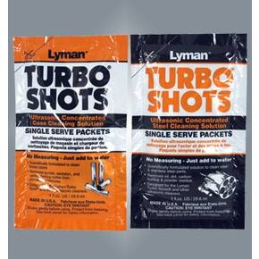 Lyman Turbo Shots Steel Clean Packs 10