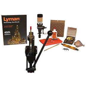 Lyman Crusher Master Single Stage Press Reloading Kit - 115V