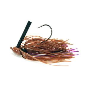 Missile Baits Ikes HeadBanger Jig Lure 1/2 oz - Brown Purple Passion