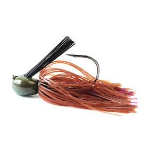 Missile Baits Ike's Mini Flip Jig 3/8 oz - Brown Purple Passion