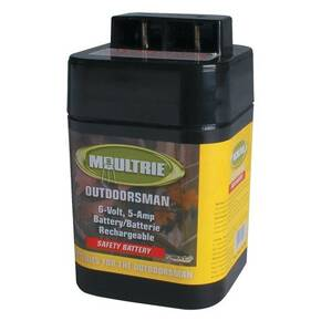 Moultrie 6-Volt Rechargeable Safety Battery