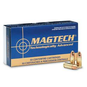 MagTech Handgun Ammunition .40 S&W 165 gr FMJ 1050 fps 50/box