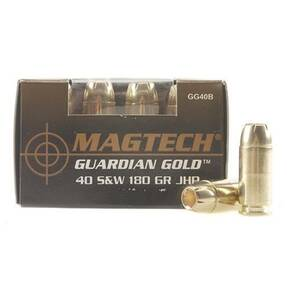 MagTech Guardian Gold .40 S&W 180gr JHP 20/Box