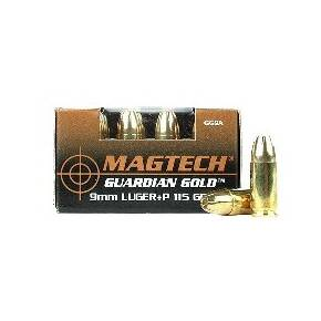MagTech Guardian Gold 9mm Luger (+P) 115 gr JHP 1246 fps 20/box