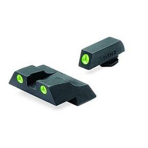Meprolight Fixed Night Sight - for Glock .26, .27 Green Front/Green Rear