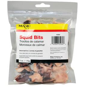 Magic Products Preserved Baits Squid Bits 6 oz - Natural