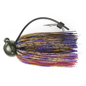 M-Pack Football Jig Lure 1 oz - PB & Strawberry