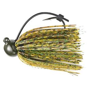 M-Pack Football Jig Lure 1 oz - Mean Green