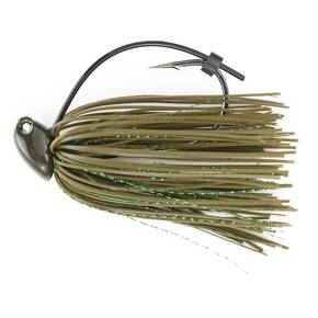 M-Pack Flipp'n Jig Lure 1/2 oz - Green Pumpkin