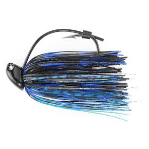 M-Pack Flipp'n Jig Lure 3/8 oz - Black/Blue