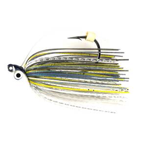 M-Pack Swim Jig Lure 1/2 oz - Ghost Sexy Shad