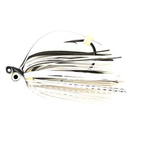 M-Pack Swim Jig Lure 3/8 oz - Pearl Ghost Shiner