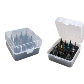 MTM Broadhead Storage Box - Clear