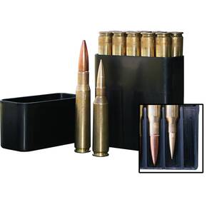 MTM 50 BMG Slip-Top 10-Round Ammo Box Black