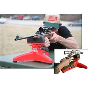 MTM Front Rifle Rest & Handgun Rest Red