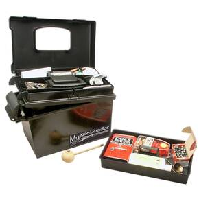 MTM Muzzle Loader Dry Box Black