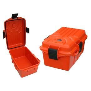 "MTM9.8"" x 6.8"" x 4.8"" Survivor Dry Box - Orange"