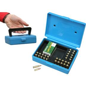 MTM Rimfire 130 Rounds Small Bore Ammo Box - Blue