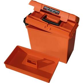 "MTM Sportsmen's Plus Utility Dry Box/Orange - 15"" x 8.8"" x 13"""