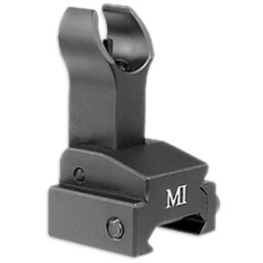 Midwest Flip-Up Front Sights - MI ERS Flip-Up Front Sight Gas Block