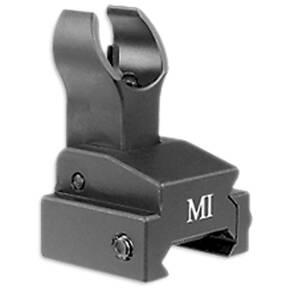Midwest Flip-Up Front Sights - MI ERS Flip-Up Front Sight Rail Mount