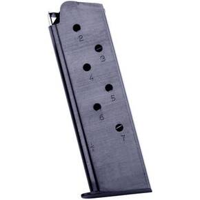 Mec-Gar 1911 Magazine .45 ACP Blued Steel 7/rd