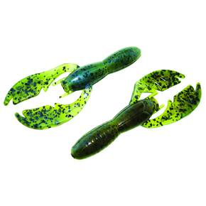 "NetBait Baby Paca Soft Craw Lure 3-3/4"" 9pk - Magic Craw"