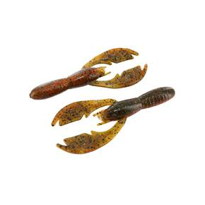 "NetBait Baby Paca Soft Craw Lure 3-3/4"" 9pk - Sun Perch"
