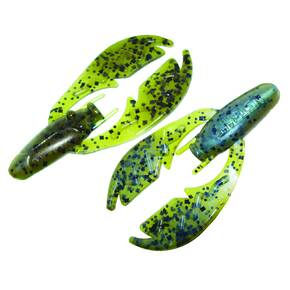 "NetBait Paca Chunk Soft Trailer Lure 3-1/4"" 6pk - Magic Craw"