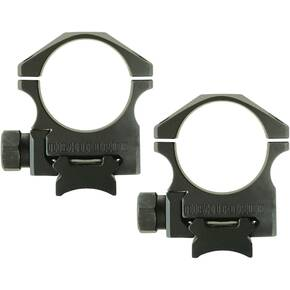 "Nightforce XTRM Steel Ring Set 30mm, 1.125"" High"