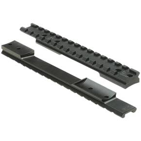 Nightforce 1 Piece Steel Base for Savage New Style LA 20 MOA, Matte Black