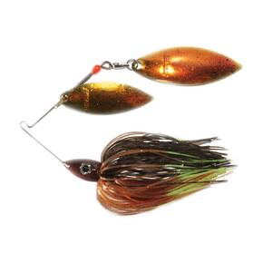 Nichols Pulsator Metal Flake Double Spinner Lure 1/2 oz - Bluegill