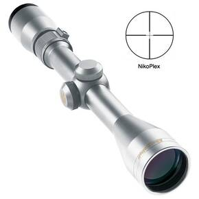 "REFURBISHED Nikon ProStaff Rifle Scope - 3-9x40mm Nikoplex Reticle 11.3-33.8' 3.6"" Silver"