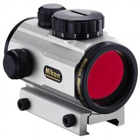 Nikon Monarch Red Dot Sight - 1x 6 MOA Dot - Silver
