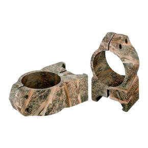 "Nikon 2-Piece Standard Steel Scope Rings - 1"" Medium, Mossy Oak Brush"