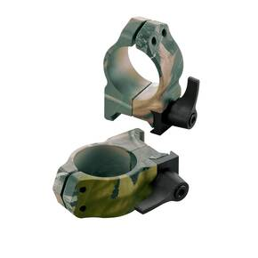 "Nikon 2-Piece Quick Release Steel Scope Rings - 1"" Medium, RealTree APG"